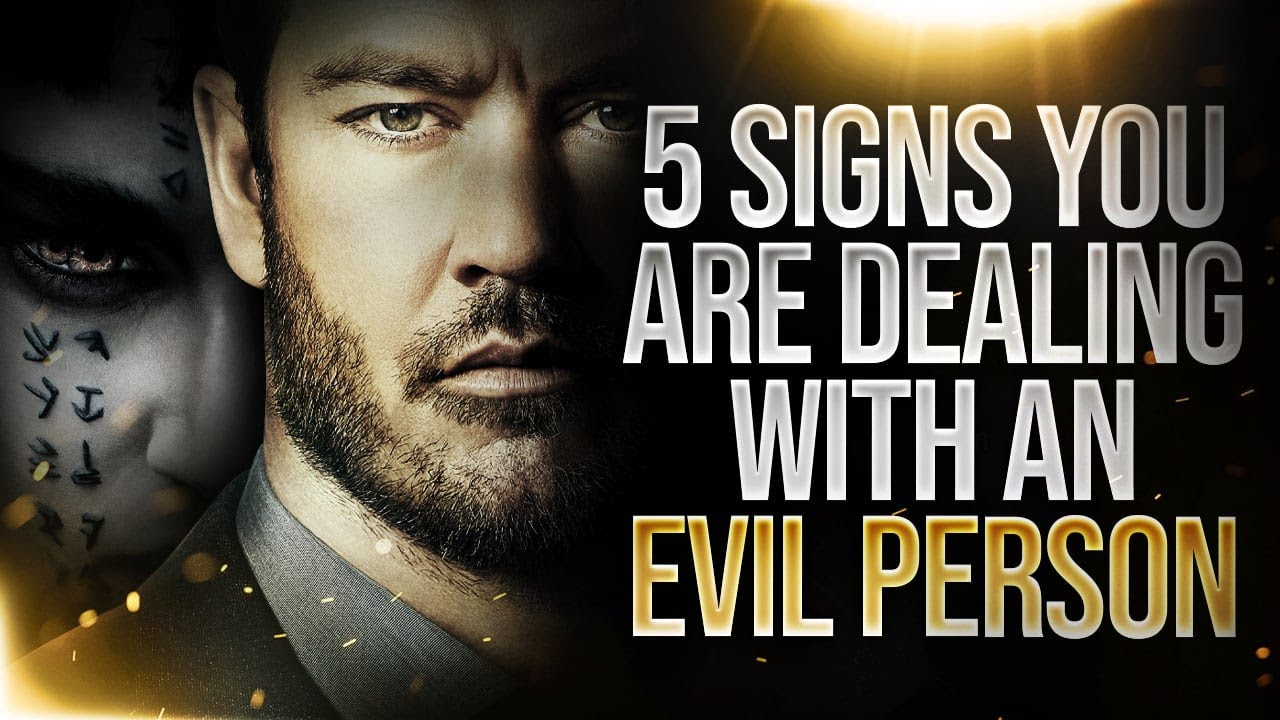 Download Don't IGNORE These Signs That You Are Dealing With An Evil Person