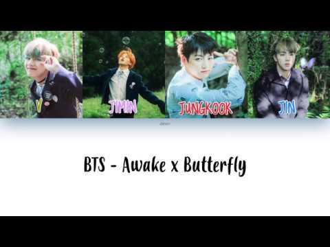 BTS (방탄소년단) - Awake x Butterfly MASHUP Colour Coded Lyrics [HAN/ROM/ENG]