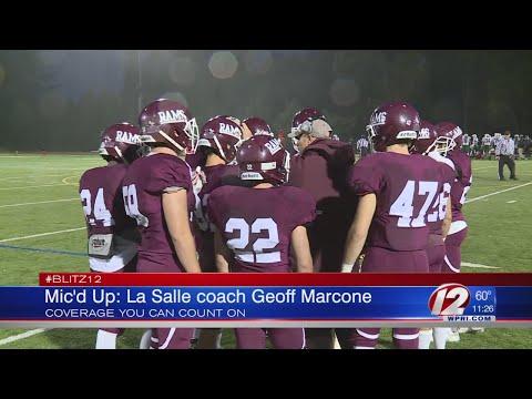 Mic'd Up: La Salle Head Coach Geoff Marcone