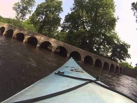 Kayaking Dan River Tunnel 2 15