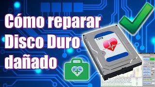 Cómo Reparar un Disco Duro dañado✅ externo o interno | Victoria HDD SSD