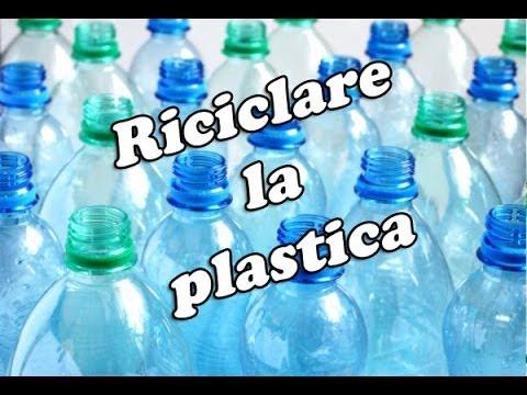 Poltrona Bottiglie Di Plastica.Tutorial 2 In 1 Riutilizzare Una Bottiglia Di Plastica Riciclo