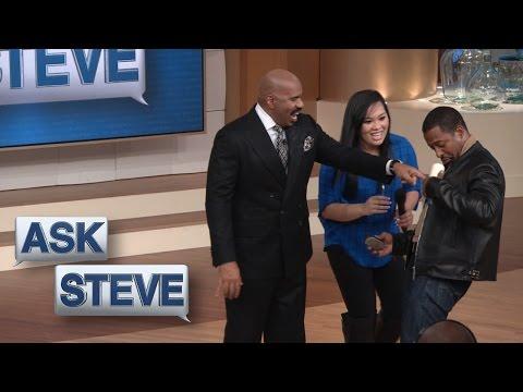 Ask Steve: I don't want nobody hugging me! || STEVE HARVEY