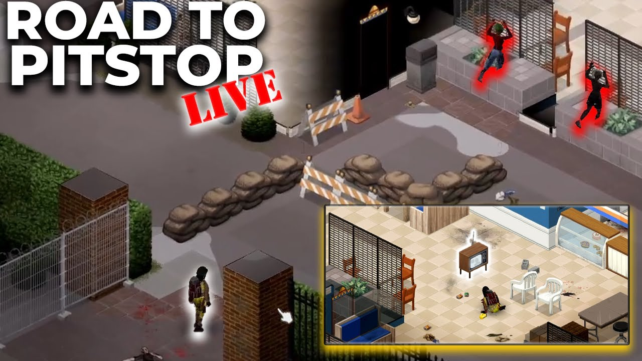 Lets Play Project Zomboid Helicopter Event ep20   YouTube
