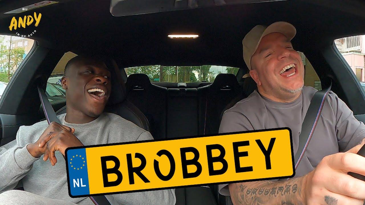 Brian Brobbey – Bij Andy in de auto!
