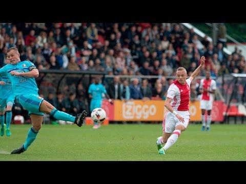 Noa Lang Vs Feyenoord O19 20 5 17 Youtube