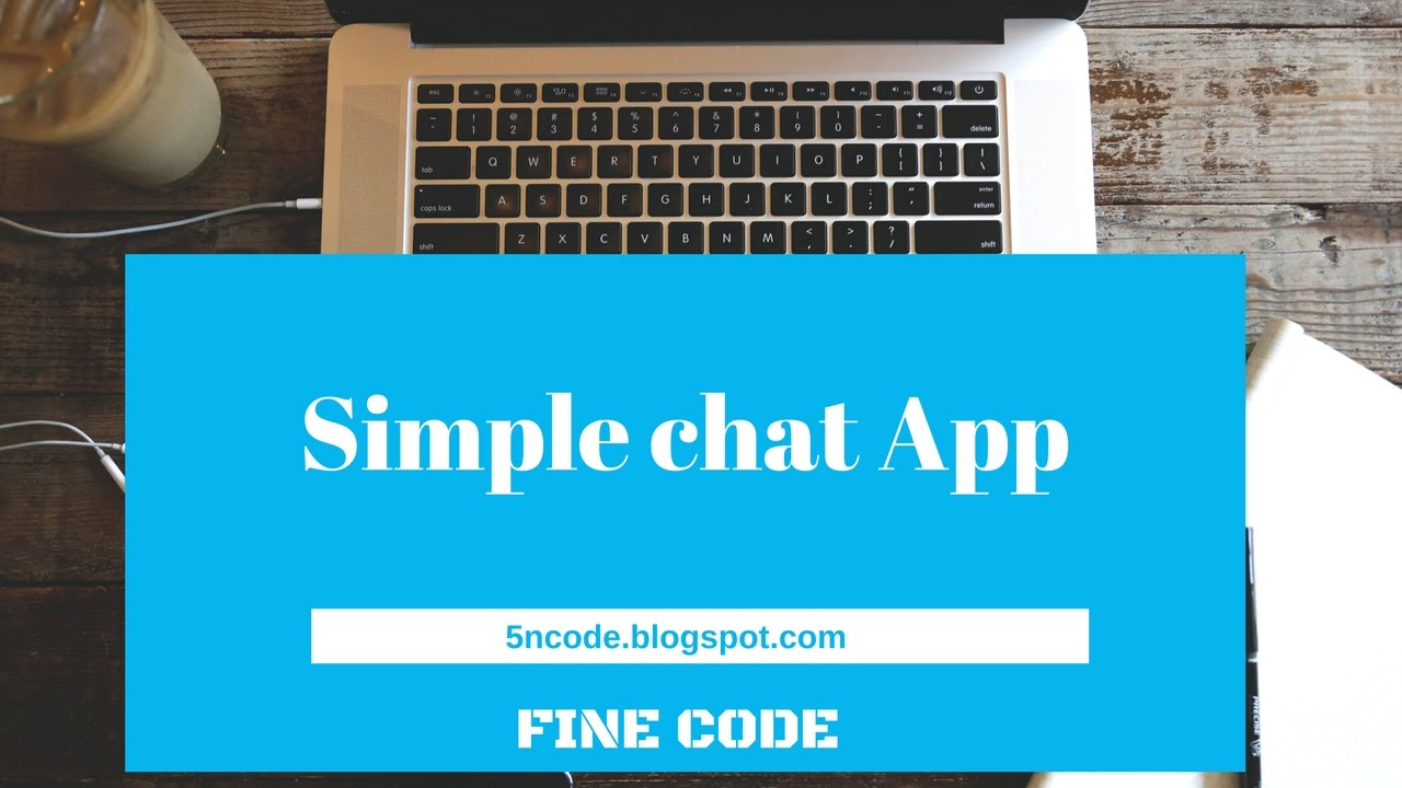 How to create simple chat app using firebase youtube how to create simple chat app using firebase ccuart Gallery
