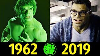 Халк - Эволюция (1962 - 2019) ! История Брюса Бенера !