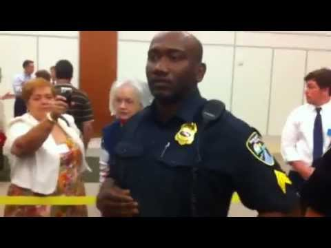 Henry Herford is assaulted by Shreveport Police at LAGOP State Convention