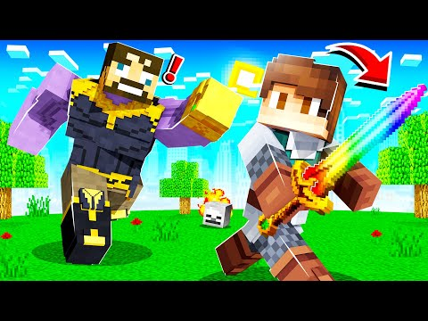 STEALING THANOS'S INFINITY SWORD in INSANE CRAFT!