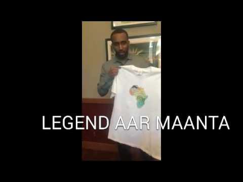 Aar Maanta London Somali Artist Supporting MNCAPD