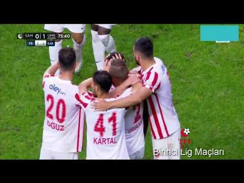2021 2022 Samsunspor Ümraniyespor 1-1 TFF 1.Lig 8.Hafta Maçı GENİŞ ÖZET