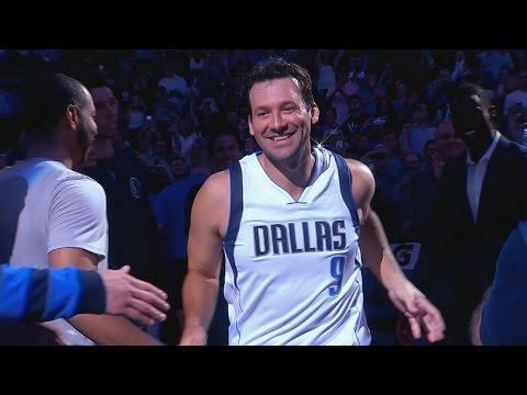 Dallas Mavericks Send Tony Romo Off In Style!