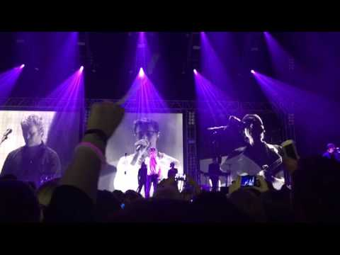 A-ha under the make up LIVE FRANKFURT 2016