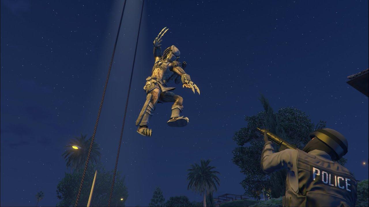 Set the Predator loose in GTA 5 with JulioNIB's next mod script | PC