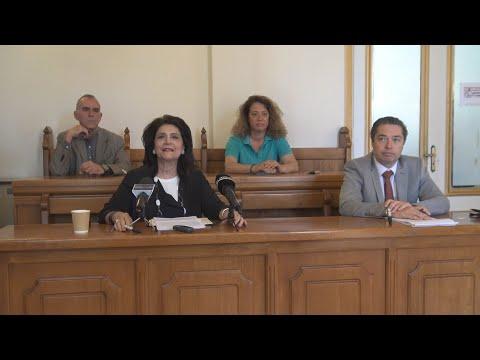 Ζάκυνθος: Συνέντευξη τύπου Ρόδης Κράτσα - Τσαγκαροπούλου [30/5/20]