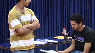BARRY JOHN ACTING STUDIO - Status exercise- (Boss & Sharma).avi