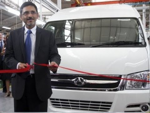 Beijing Automotive Works opens taxi plant in Springs