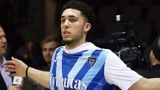 Liangelo Ball Makes It A Priority To Get Drafted by Los Angeles Lakers