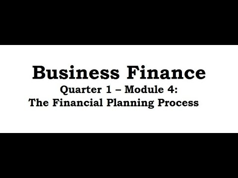Business Finance Module 4