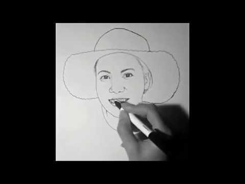 """วาดรูป การ์ตูน """"คุณต๋อย"""" คุณครูคนสวย - How To Draw People #07"""