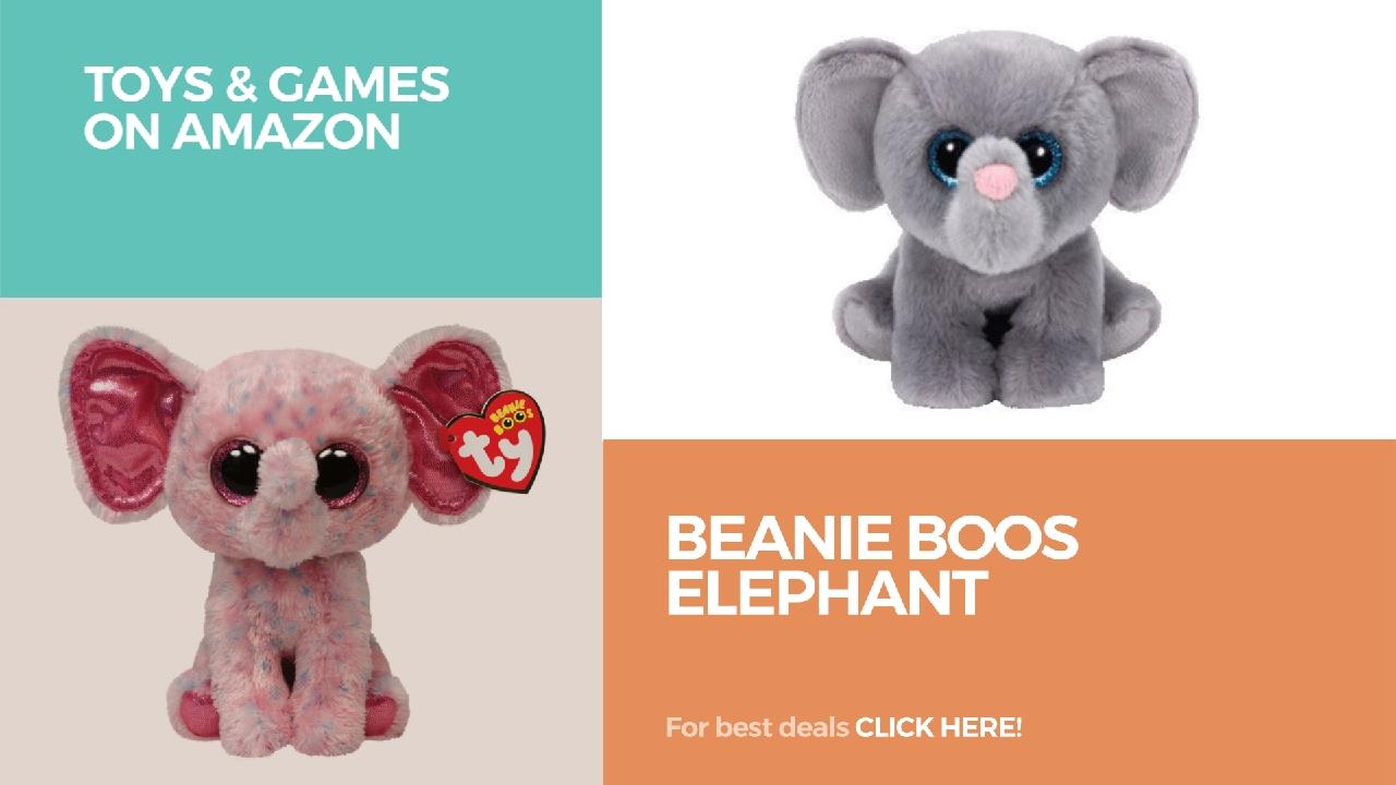 Beanie Boos Elephant    Toys   Games On Amazon - YouTube ddf1ef353b1