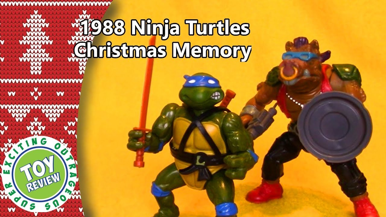 1988 Teenage Mutant Ninja Turtles - Christmas Toy Memories with Home ...