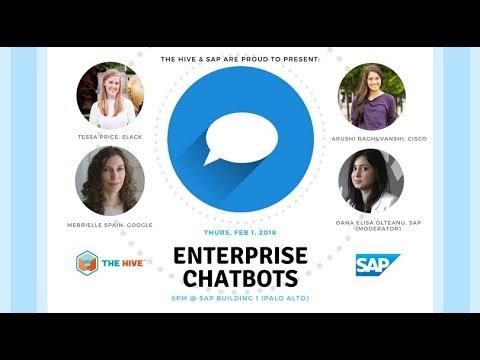 Enterprise Chatbots, 2-1-2018