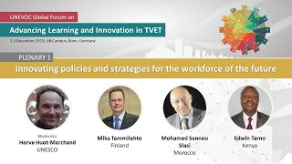 ALIT 2019 Plenary 1 - Innovating policies and strategies for the workforce of the future thumbnail