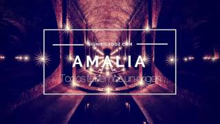 AMALIA - Significado del Nombre Amalia ♥