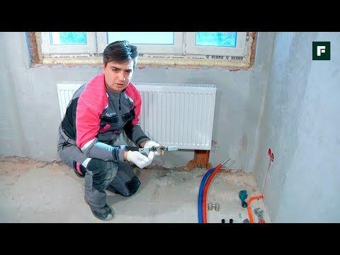 Способы подключения радиаторов из стены // FORUMHOUSE