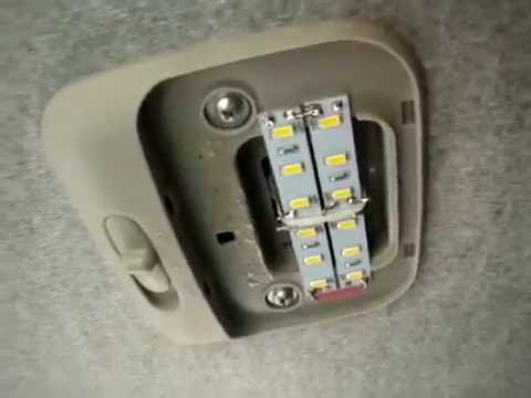 Светодиодная подсветка салона и багажника деу ланос 1.5 daewoo lanos