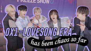 Download TXT 0X1=LOVESONG Era Has Been Chaos So Far   지금까지의 투모로우바이투게더 영원럽 (제로 바이 원 러브송) 시대는 혼돈이었다