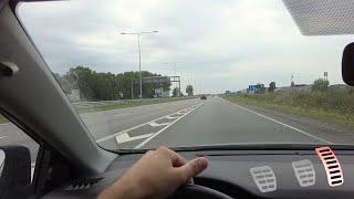 Autofahren lernen A18: Fahren mit Gangschaltung auf der Autobahn - Teil 4/4