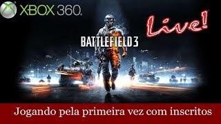Battlefield 3 de graça - Jogando com Inscritos X360