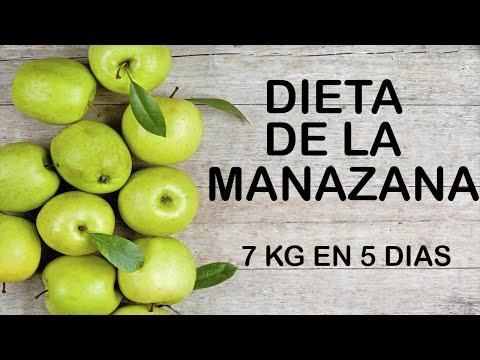bajar de peso comiendo manzana