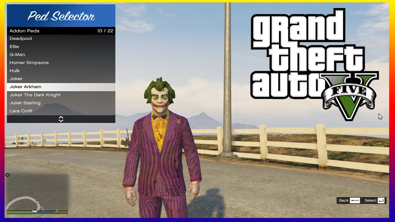 How To Install the Add-On Peds Selector in GTA 5 - GTA 5 Mods