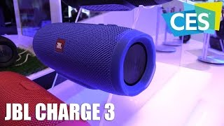 JBL Charge 3 Bluetooth Speaker Presentation (CES 2016) | Allround-PC.com