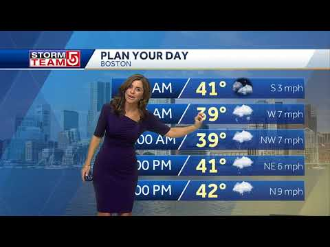 Video: Mix of rain, snow in forecast