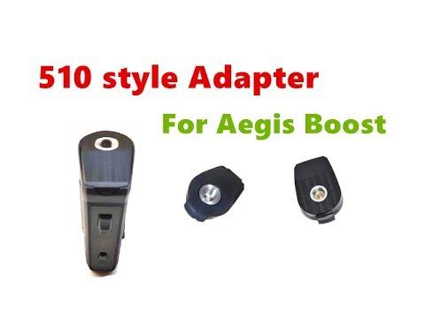 OEM Design 510 Style Adapter For Aegis Boost Pod Kit By Wejoytech