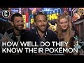 """Detective Pikachu Stars & Director Play """"Know Your Pokemon"""""""