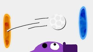 Zombey golft (mal wieder) durch Portale.