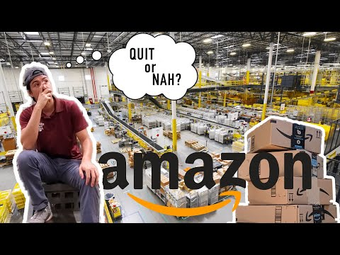 DAY IN THE LIFE Working at an AMAZON Warehouse (Inside Footage)