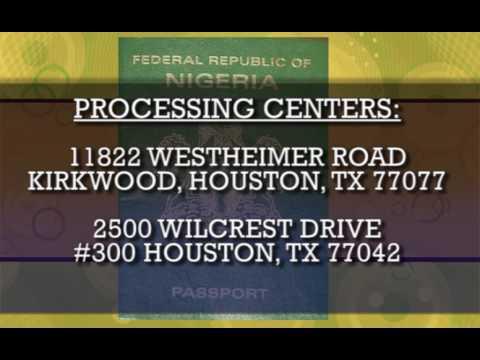 Nigeria Embassy Passport Service in Houston TV add