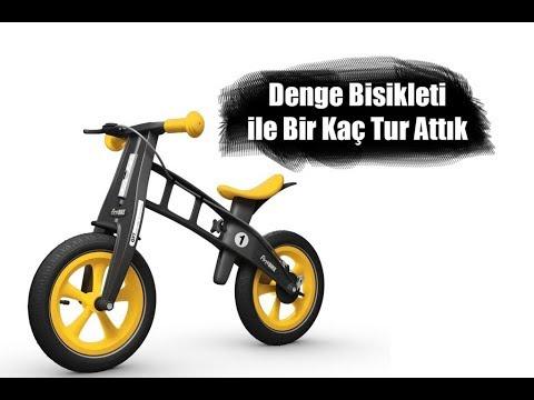 Denge Bisikleti Ile Bisiklet Sürmeyi Öğrenmek