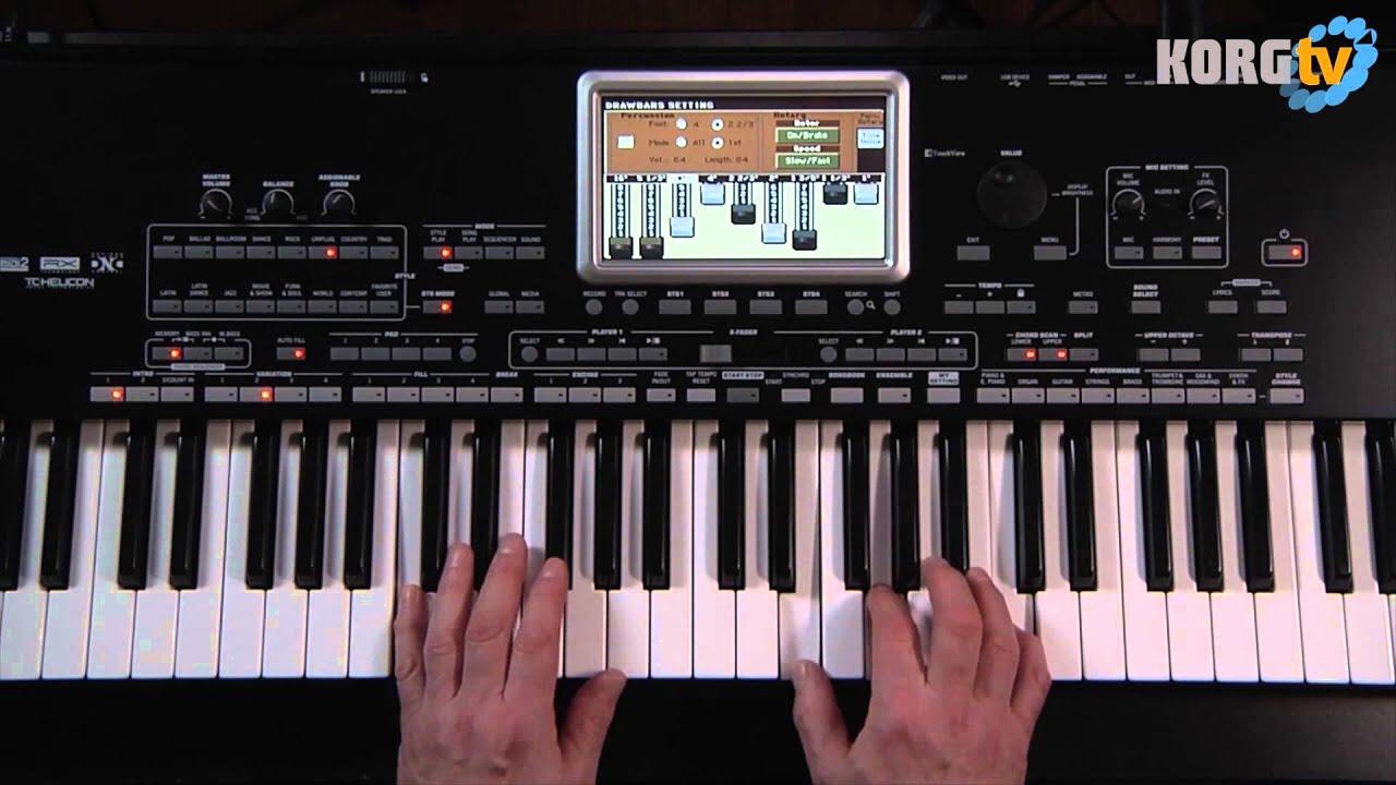 KORG TV / Pa3X Le Video Manual Teil 2/8 - Sounds