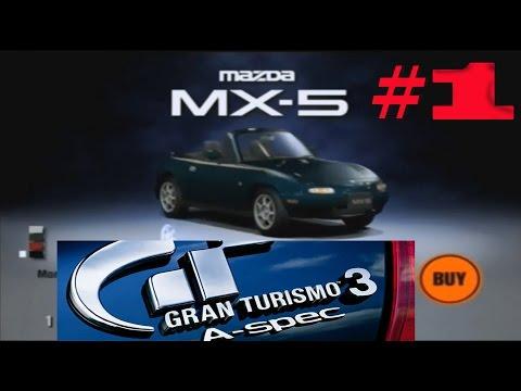 Gran Turismo 3: A-Spec Прохождение часть 1 Покупка первой машины и первые чемпионаты