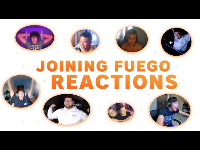 How the new Fuego members reacted joining the team!