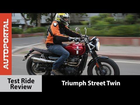Triumph Street Twin - Test Ride Review - Autoportal