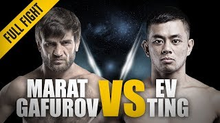 ONE: Full Fight | Marat Gafurov vs. Ev Ting | The Rear-Naked Choke Master | May 2015